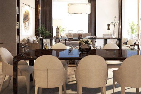 La Maison by Fendi Casa Dining Room