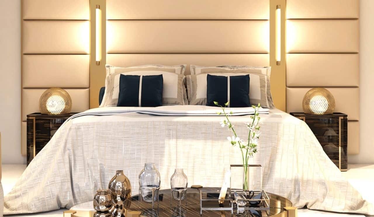 La Maison by Fendi Casa Main Bedroom