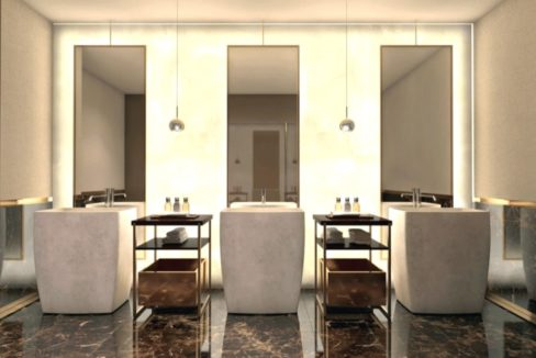 La Maison by Fendi Casa Main Bathroom