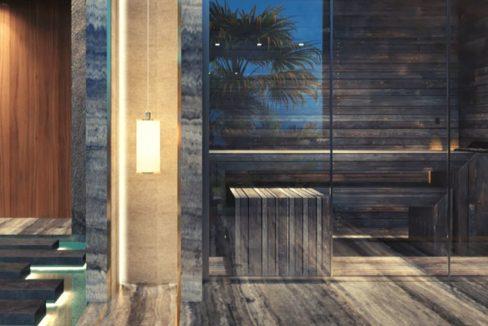La Maison by Fendi Casa Sauna