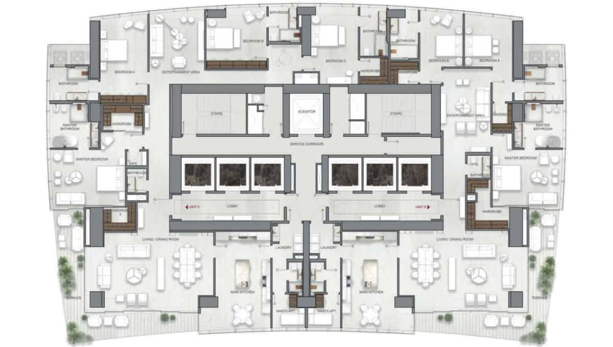 La Maison by Fendi Casa | Type C