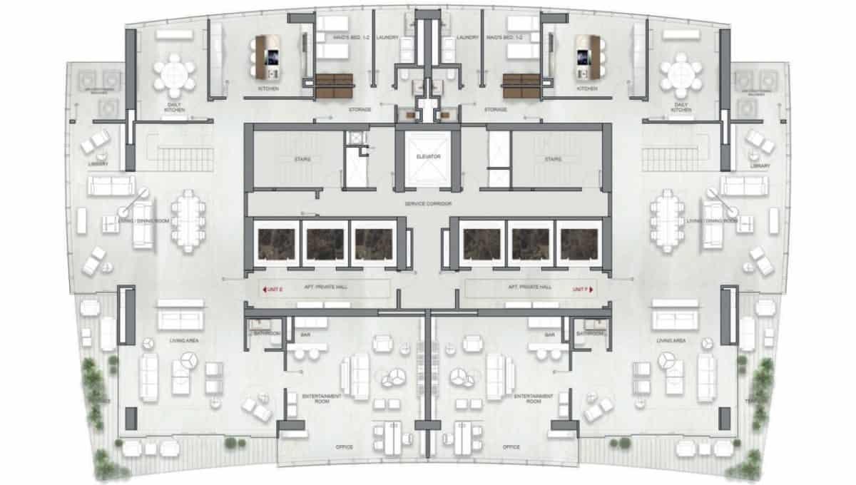 La Maison by Fendi Casa Penthouse E, F (1)