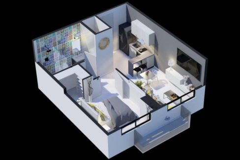 The Gray, Calle 50 Floor Plan 1