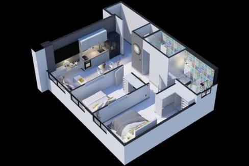The Gray, Calle 50 Floor Plan 4