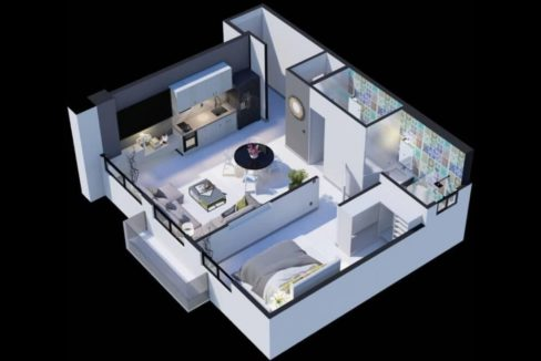 The Gray, Calle 50 Floor Plan 5